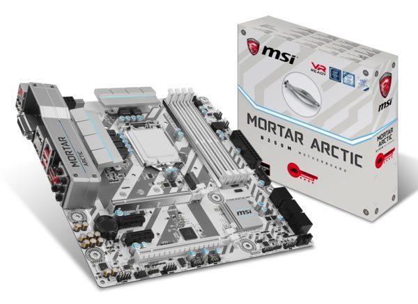 MSI B250M MORTAR ARCTIC Anakart