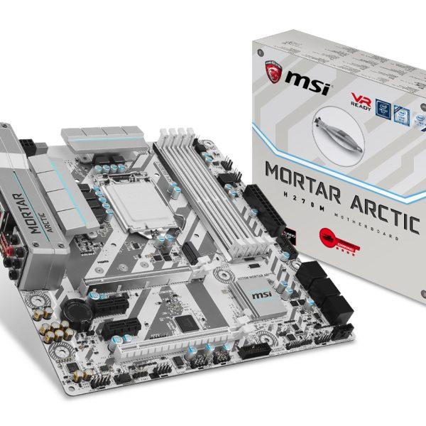 MSI H270M MORTAR ARCTIC Anakart
