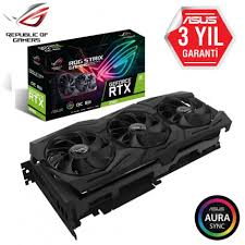 ASUS GEFORCE ROG-STRIX-RTX2080-A8G-GAMING Ekran Kartı