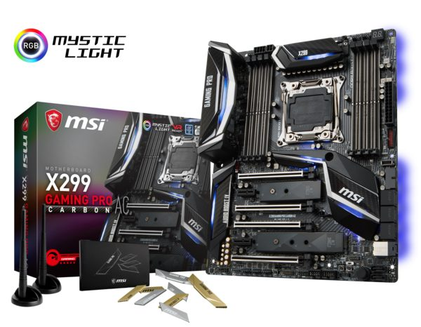 MSI X299 GAMING PRO CARBON AC Anakart